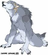 Grey Male Werewolf
