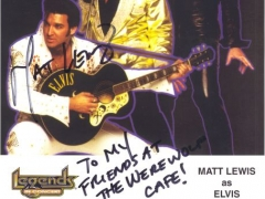 Matt Lewis as Elvis