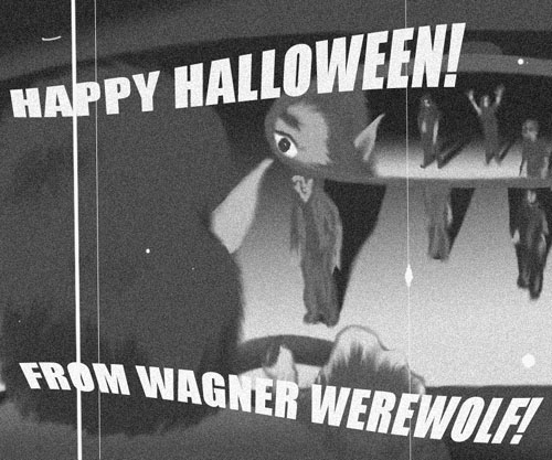 Happy Halloween from Wagner!