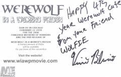 Werewolf Prison Back